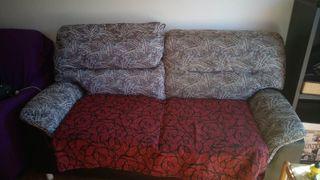 Sofá de varias plazas, relleno hecho por Tapicero