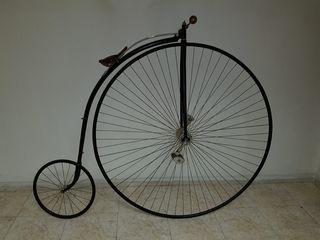 velocípedo restaurado