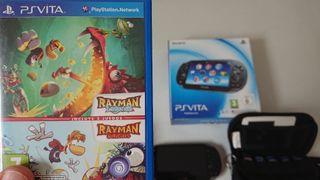 Juego Ps Vita Rayman Legends + Rayman Origins