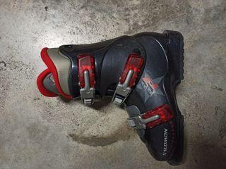 botas de esqui ski Salomon 23/23.5
