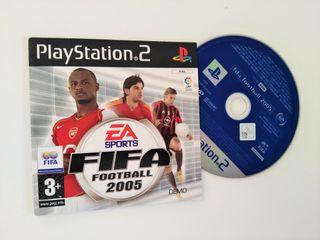 FIFA 2005 DEMO PS2