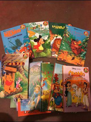 Libros de cuentos Disney originales