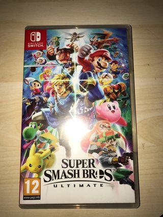 Súper smash bros para Nintendo switch