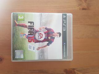"""Videojuego de PS3 """"FIFA 15"""""""