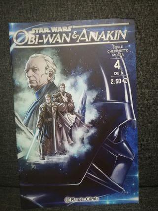 "Serie Completa ""Obi Wan Kenobi Y Anakin"" (Grapas)"