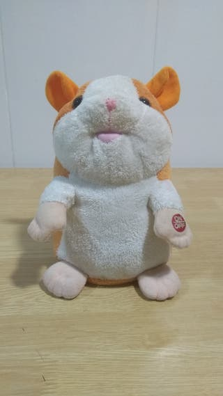 Chatimals Hamster que habla juguete peluche