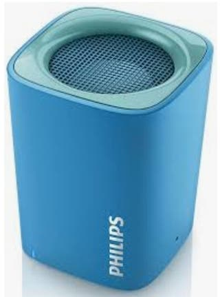 ALTAVOCES PHILIPS BT100B BLUETOOTH AZUL