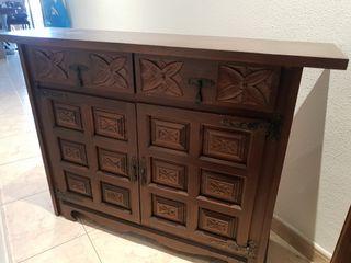 Mueble recibidor vintage, Taquillón