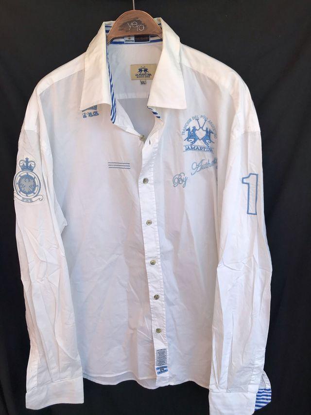 LA MARTINA Camisa blanca talla 6XL