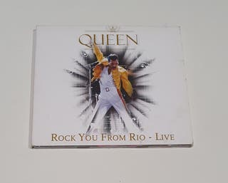 QUEEN / CD DIGIPACK / ROCK YOU FROM RIO - LIVE