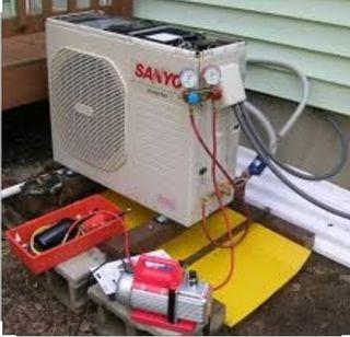 Reparación maquinas Aire acondicionado