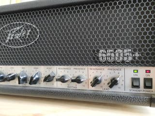 PEAVEY 6505+ CABEZAL AMPLIFICADOR GUITARRA