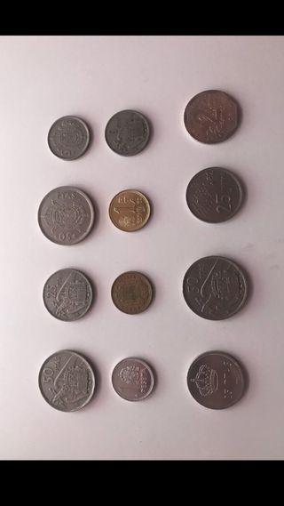 Colección de más de 100 monedas de época