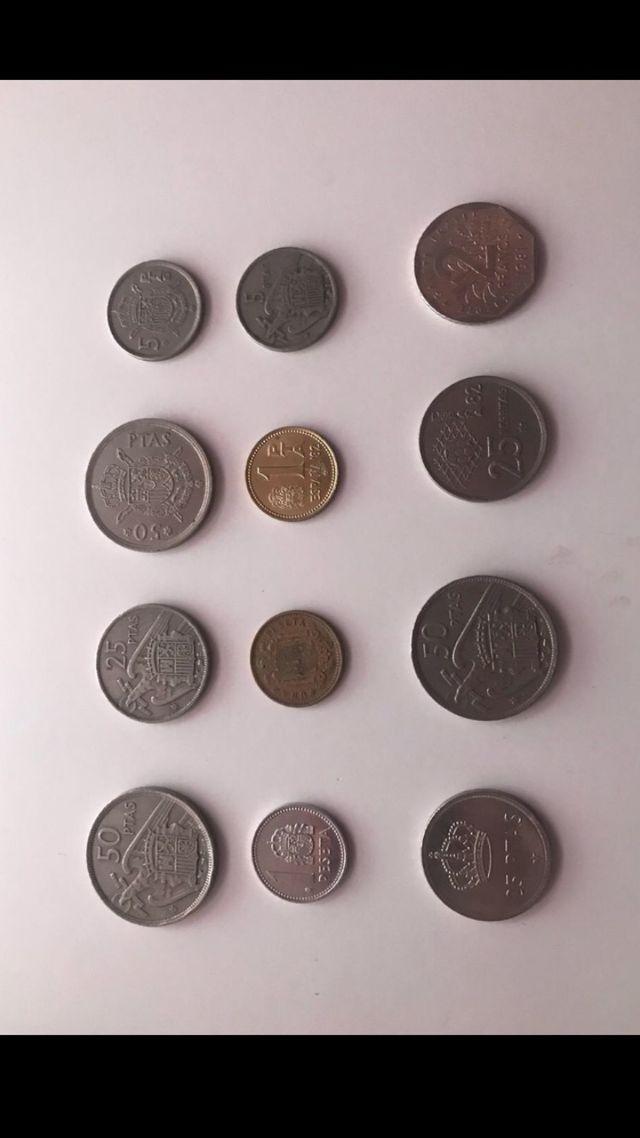 Gran venta Colección de más de 100 monedas