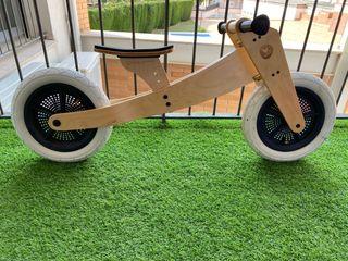 Bicicleta madera wishbone