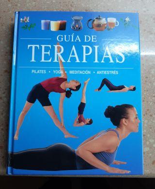 LIBRO GUIA DE TERAPIAS.-Pilates.-Yoga.-Meditacion.