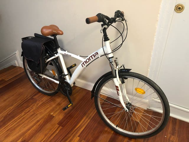 Bicicleta Momma Bikes Hybrid de paseo