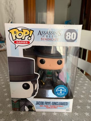 FUNKO POP ASSASSINS CREED JACOB FRYE ( UNCLOAKED)
