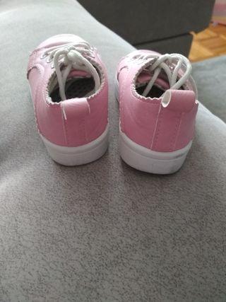 Zapatillas rosas número 21