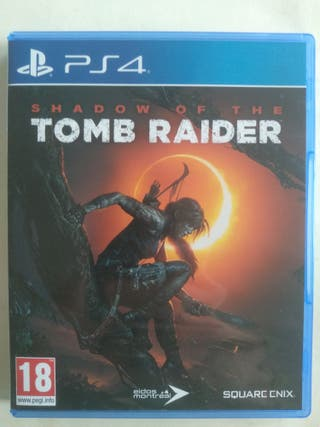 shadow of the Tomb Raider PS4. Venta o cambio