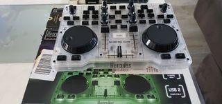 mesa mezclas Hércules dj control.glow