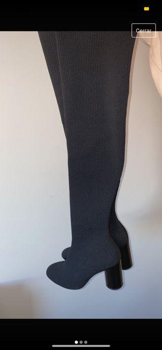 Botas altas de calcetín