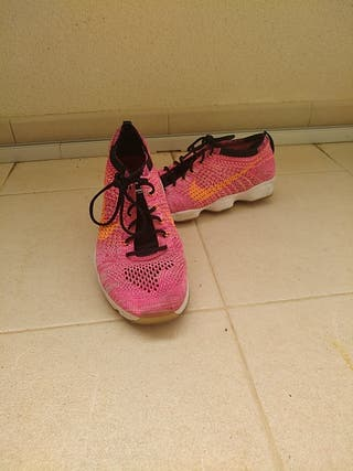 zapatillas Nike rosa talla 39
