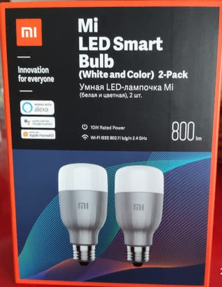 Bombilla inteligente Mi Bulb Xiaomi.