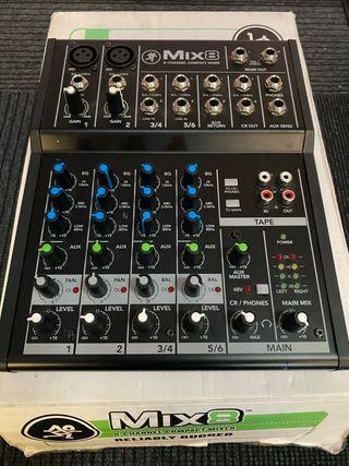 Mackie Mix 8 Mezclador
