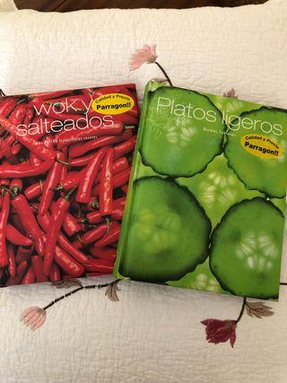 Libros de Cocina wok y salteados, y platos ligeros
