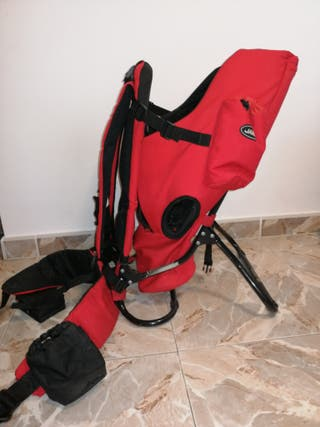 mochila trekking portabebes