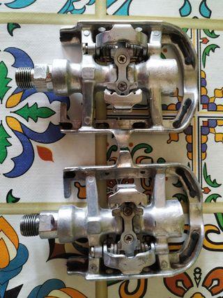 pedales de aluminio para calas