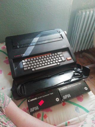 Maquina de escribir eléctrica Canon V-54