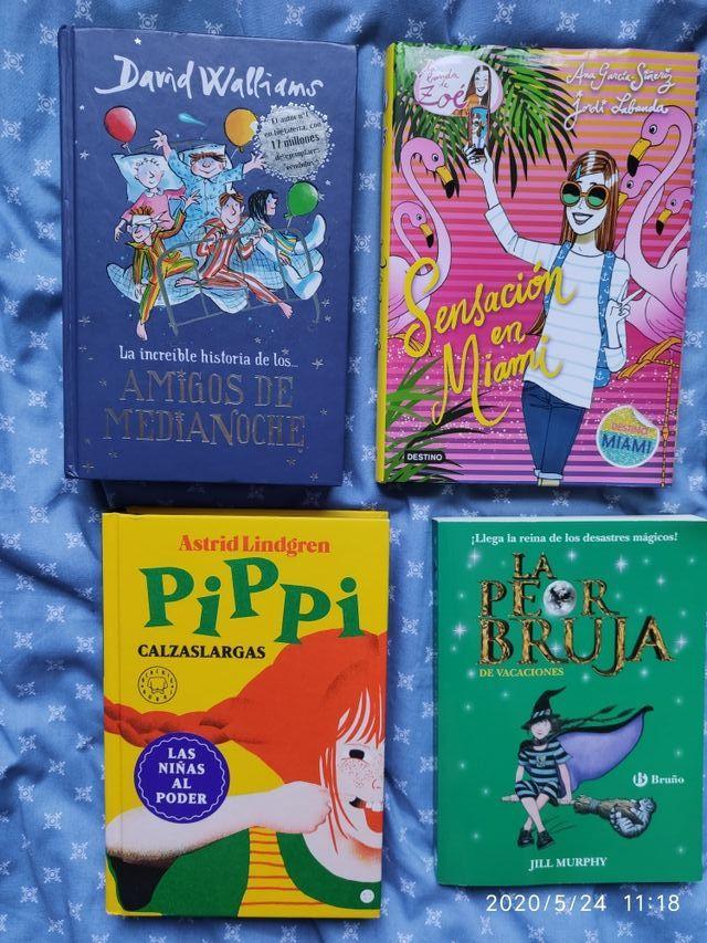 Libros lectura juvenil niños