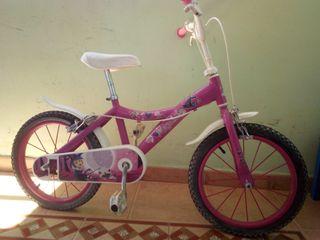 """Bicicleta niña 5 - 8 años 16"""""""