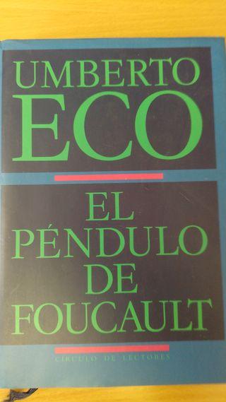 Libro. El Péndulo de Foucault.
