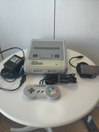 consola super Nintendo completa