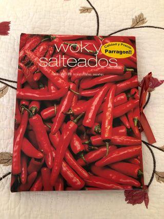 Libro de cocina Wok y salteados