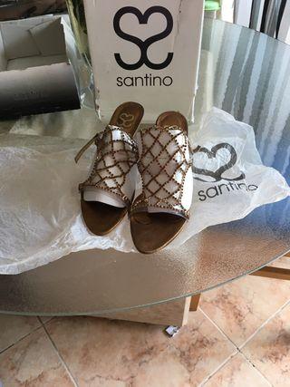 Zapatos de esvaroski