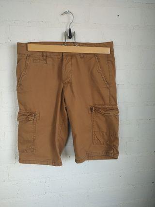 Pantalones cortos holgados hombre