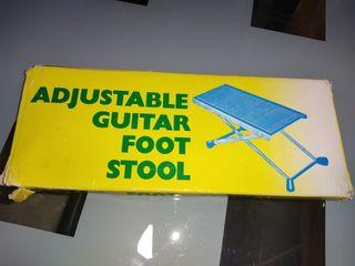 reposa píes ajustable para guitarra