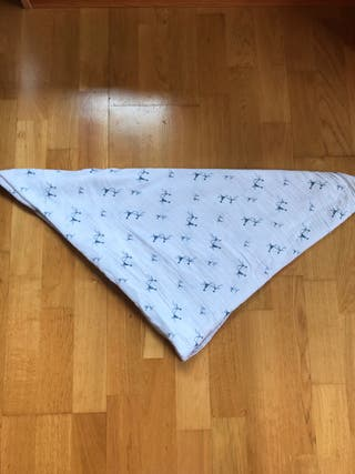 Muselina Anaïs 1m x 1 m para bebé (100% algodón)