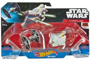 2 naves Star wars Hotwheels Tie Fighter vs. Ghost