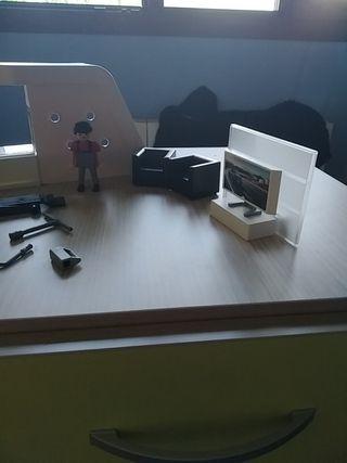 estación/ taller porche