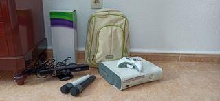 Xbox 360 y todos sus accesorios