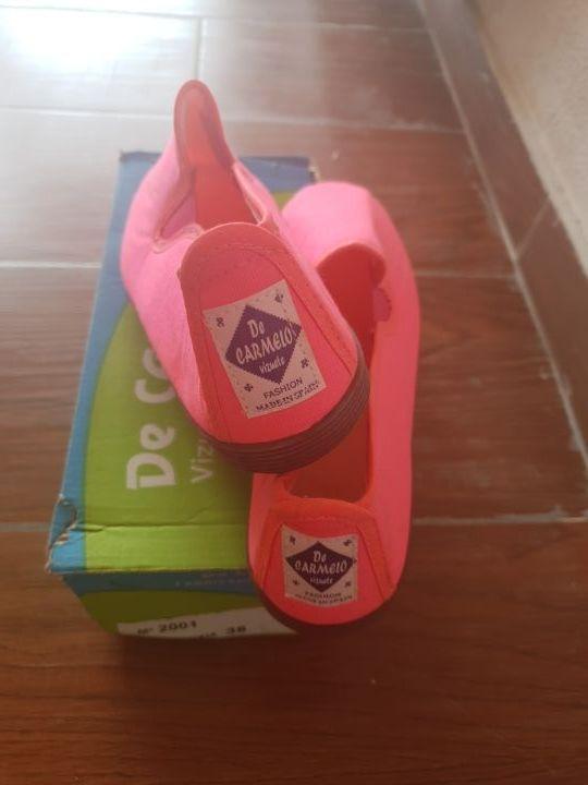 Zapatillas Rosa Flúor Nuevas!