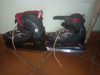 patines de hielo oxxelo, 35-38 talla de pie