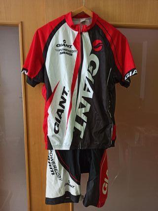 conjunto ciclismo giant