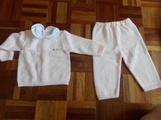 Conjunto de bebé Rosita Baby 6 meses sin estrenar