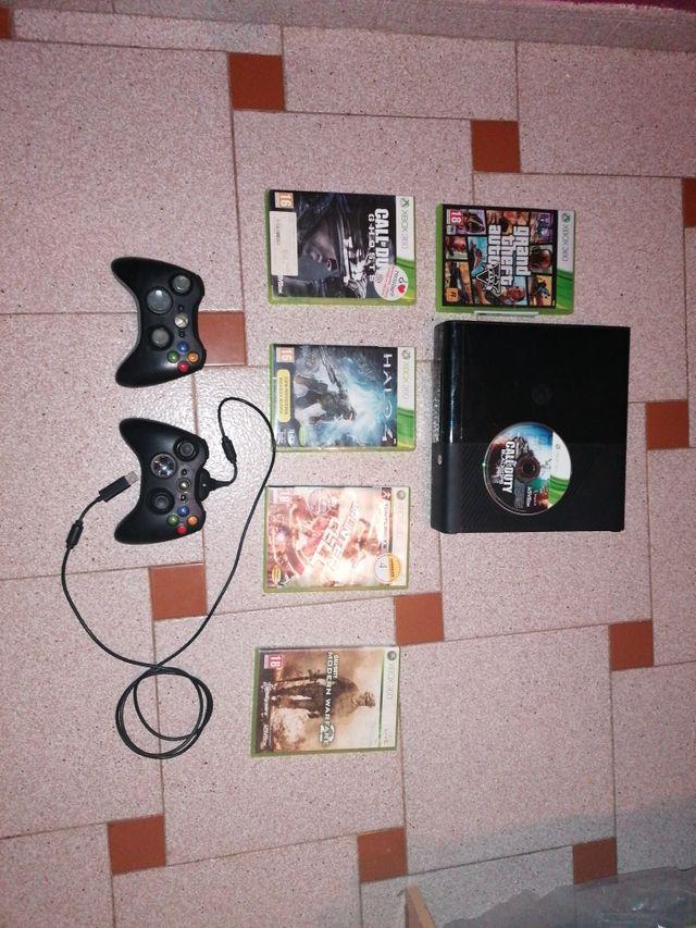 Xbox360 con 2 mandos